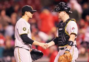 injured pirates catcher helpless  protect wife ny
