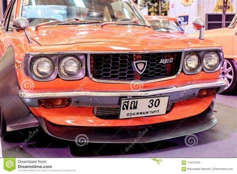 A Vintage Car Mazda Rx