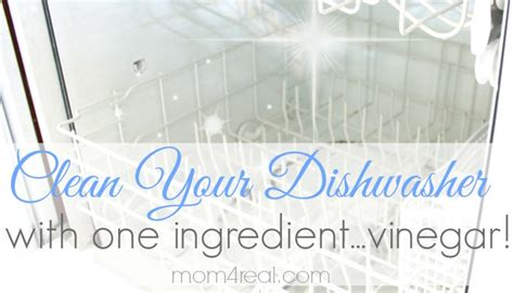 cleaning dishwasher with vinegar get a super clean dishwasher with vinegar mom 4 real