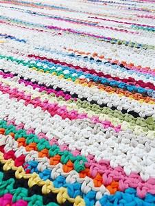 17 meilleures idees a propos de tapis au crochet sur With modele de tapis
