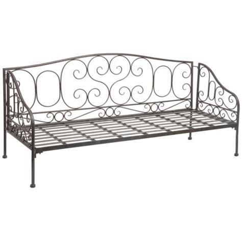 canapé lit en fer forgé banquette fer forge pas cher 28 images boutique