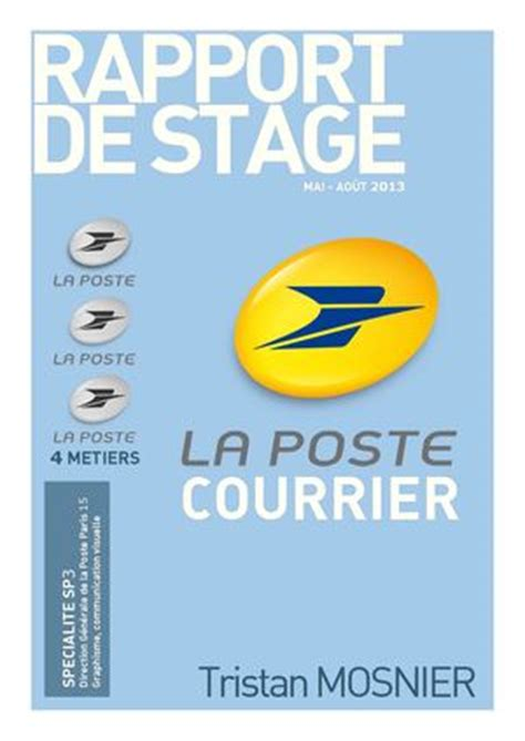 si鑒e la poste calam 233 o rapport stage poste
