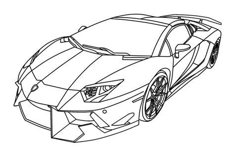 Auto Kleurplaat Lamborghini by Kleurplaat Lamborghini Veneno With Kleurplaat Lamborghini