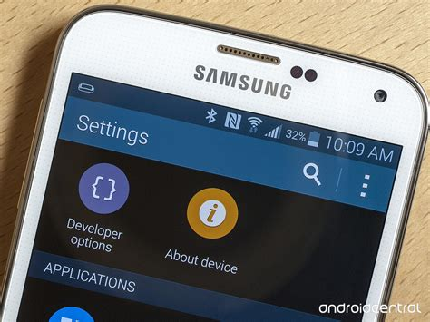 developer options android how to enable samsung galaxy s5 developer options