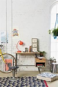 couleur mur style industriel journaux peinture une With carrelage gris couleur mur 10 nuances de bleu amp style industriel frenchy fancy