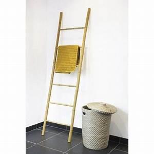 Echelle Porte Vetement : porte serviette bambou leroy merlin 20 salle de bain dans les combles ~ Nature-et-papiers.com Idées de Décoration