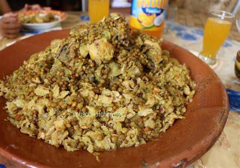 cuisine marocaine avec photos rfissa recette marocaine sousoukitchen