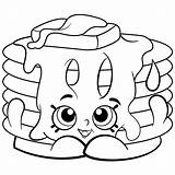 Marshmallow Coloring Pages Getdrawings Doll Shopkins sketch template