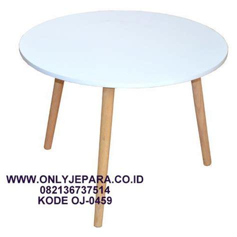 meja cafe minimalis modern bentuk bulat