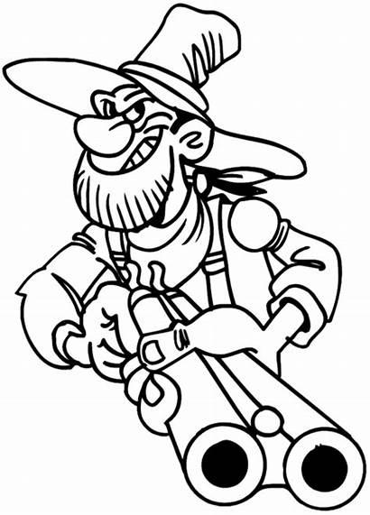 Hillbilly Decal Shotgun Redneck Decals Drawing Line