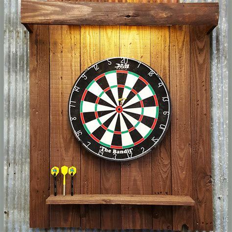 Dart Board Back Board with Light