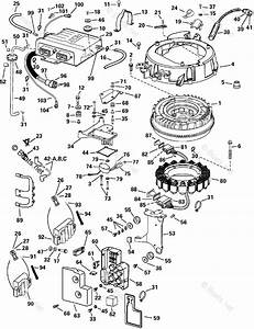 Evinrude Outboard Parts By Year 2002 Oem Parts Diagram For