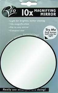 Vergrößerungsspiegel Mit Saugnäpfen : rio 10 fach vergr erungsspiegel mit beleuchtung selbsthaftend ean 5019487081902 ~ Sanjose-hotels-ca.com Haus und Dekorationen