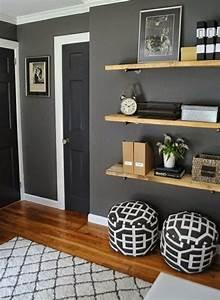Wandfarbe Grau Schlafzimmer : wandfarbe grau 29 ideen f r die perfekte hintergrundfarbe in jedem raum flur pinterest ~ Buech-reservation.com Haus und Dekorationen