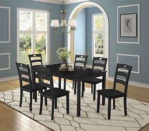 Dining, Room, Table, Set, 7, Piece, Dining, Table, Sets, With, Dining, Chairs, For, 6, Heavy, Duty, Wooden