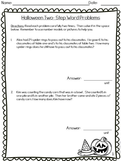 step word problems   grade words word