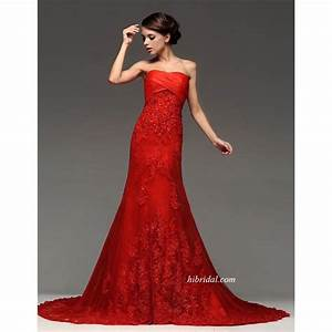 Colored wedding dresses sexy red designer gothic for Wedding dress red
