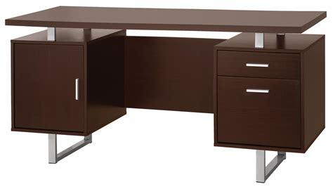 contemporary bureau desk glavan contemporary pedestal office desk with metal