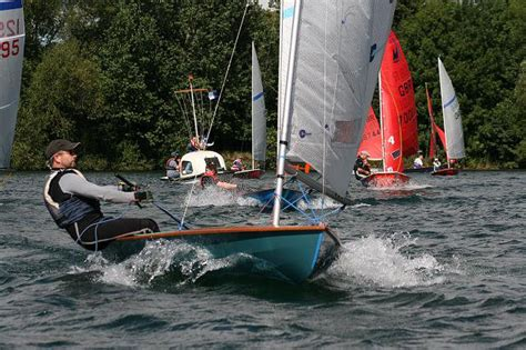 The Open Boat Ian Smith by Streaker Open At Ripon Sailing Club
