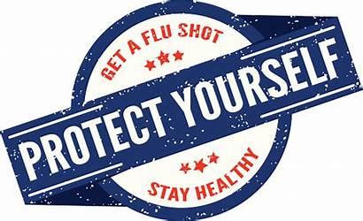 Flu Shot Stamp Vaccine Cartoons Staff Vaccines