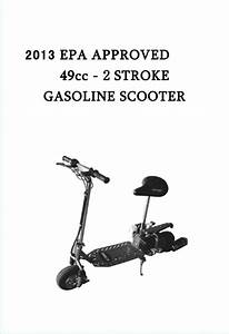 49cc Gas Scooter Manual