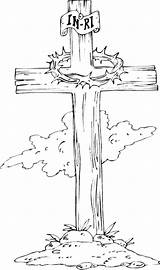 Cross Coloring Wooden Pages Drawing Wood Tattoo Outline Printable Drawings Template Crosses Sketch Jesus Getdrawings Sketches Easter Heart Overlay Crucifixion sketch template