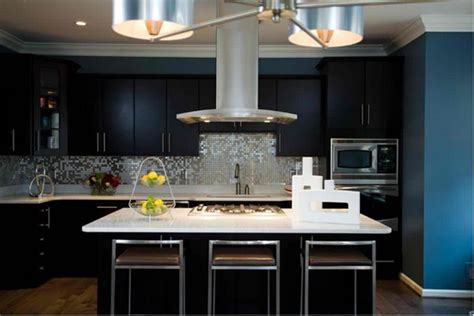 pics of kitchens with black cabinets 15 contemporary kitchen with black cabinets rilane 9093