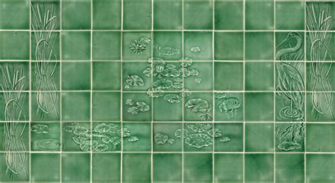 tile ideas for bathroom walls arts and crafts tile for bathroom and fireplace surround