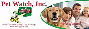 News pet watch incpet watch inc for Professional dog walker rates