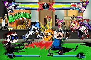 Cartoon Network Fusion Fight Umvc3 Spoof By