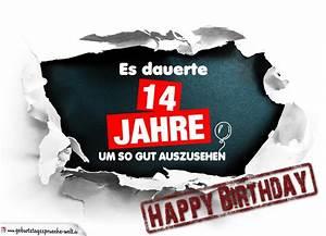 14 Geburtstag Feiern Ideen : 14 geburtstag lustige geburtstagskarte kostenlos geburtstagsspr che welt ~ Frokenaadalensverden.com Haus und Dekorationen