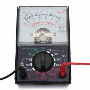 Analogue Multimeter Resistance AC DC Volts Ohm Electrical ...