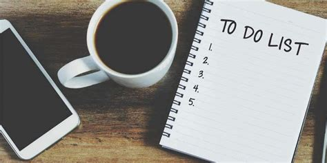 What To Do to do list of to do lijstje een handige time management
