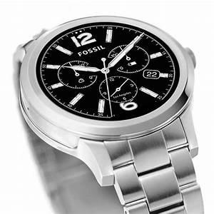 Fossil Q Founder Smartwatch Boasts Classic Analog Watch ...
