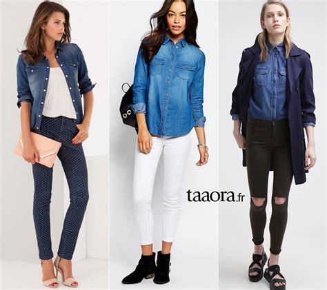 6 chemises en jean basiques taaora mode tendances looks