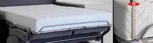 Canapé Convertible Matelas 20 Cm : photos canap lit convertible avec vrai matelas ~ Teatrodelosmanantiales.com Idées de Décoration