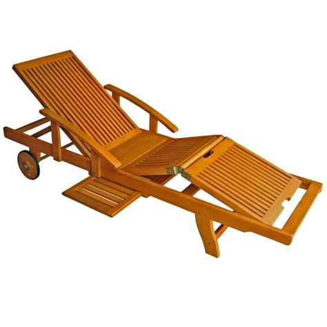 outdoor chaise lounge with wheels tt sl 012