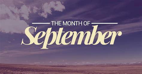 september ninth month   year