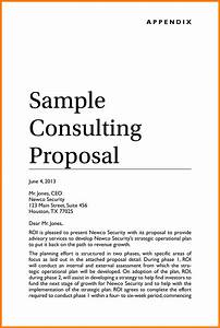 consulting proposal template cyberuse With consultant offer letter template