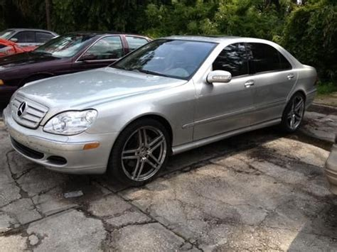 Muscle plus luxury, for $131,000. Purchase used 2004 Mercedes Benz S600 S-Class AMG V12 Twin Turbo in Deltona, Florida, United States