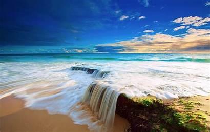 Desktop Beach Background Wallpapers Paradise