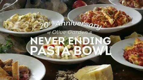 olive garden never ending pasta olive garden never ending pasta bowl tv we re