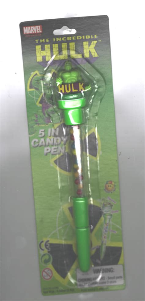 The Incredible Hulk 5 In 1 Candy Pen