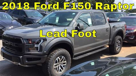 ford  raptor lead foot  ecoboost