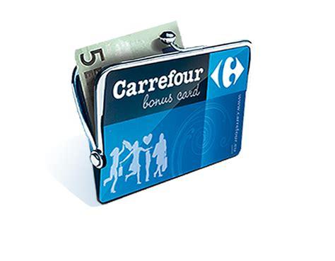 detail carrefour bonus card