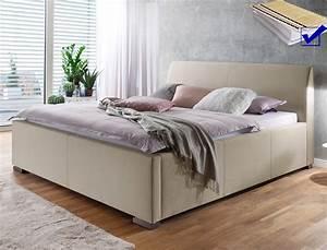 Bett Mit Lattenrost Und Matratze 180x200 : polsterbett larissa 180x200 beige doppelbett bett lattenrost matratze wohnbereiche schlafzimmer ~ Bigdaddyawards.com Haus und Dekorationen