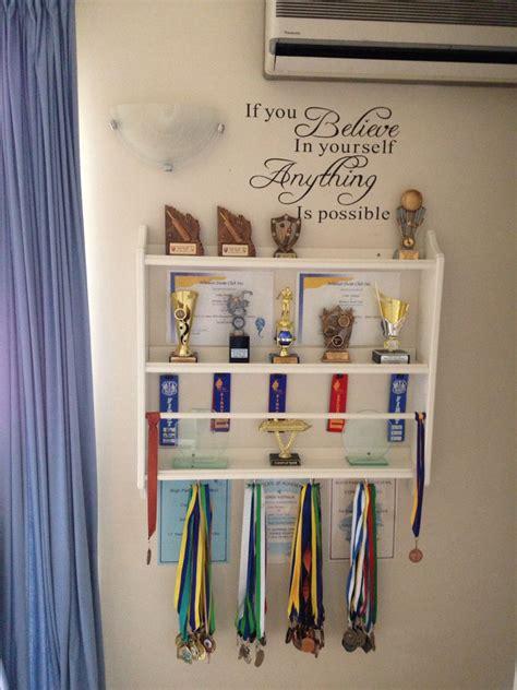 trophy display   plate shelf  ikea needed   store  display  sons