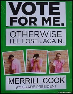 25 Hilarious Student Council Campaign Poster Ideas ...