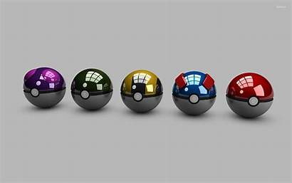 Pokeballs Wallpapers Pokeball Balls 3d Pikachu Background