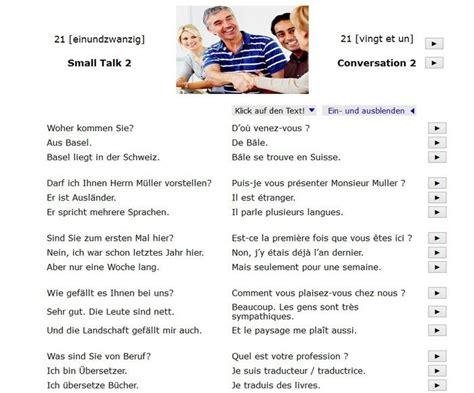 Französisch deutsch text